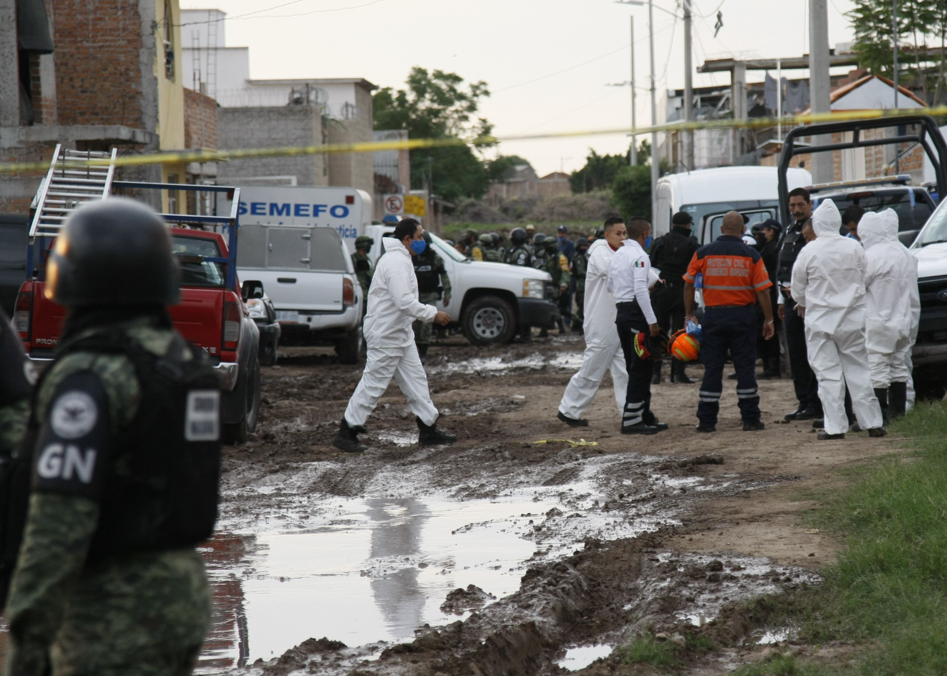 guanajuato - Irapuato - mexico - violence - national guard - 02072020