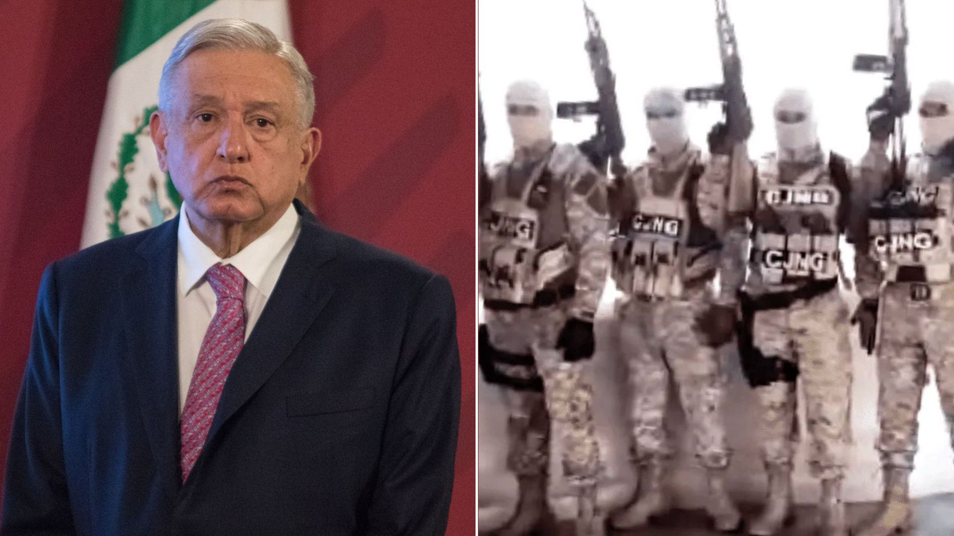 Columbia University researcher Edgardo Buscaglia confirmed that Mexican President Andrés Manuel López Obrador is threatened with death by the CJNG (Photo: Special)